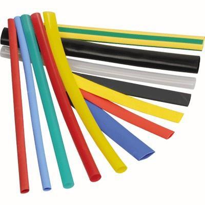 Термоусаживаемая трубка ТУТ 16/8 набор: 7 цветов по 3шт. 100мм EKF