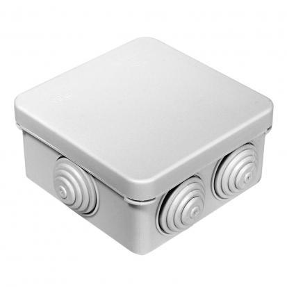 Коробка распределительная 40-0210 для о/п безгалогенная (HF) 80х80х40 (105шт/кор) Промрукав