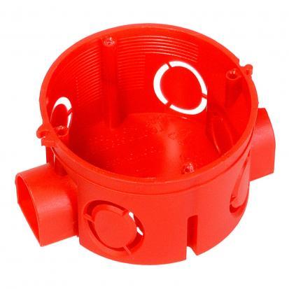 Коробка установочная 80-0500 безгалогенная (HF) 64х40 (224шт/кор) Промрукав