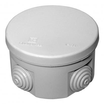 Коробка распределительная 40-0120 для о/п безгалогенная (HF) 80х50 (102шт/кор) Промрукав