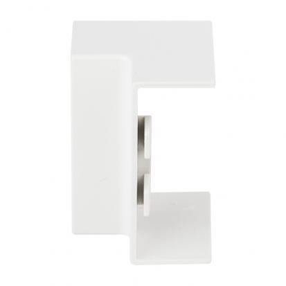 Угол внутренний (12х12) Plast EKF PROxima Белый