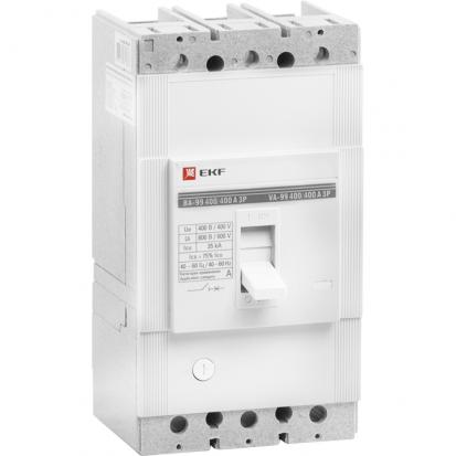 Выключатель автоматический ВА-99 400/400А 3P 35кА EKF PROxima