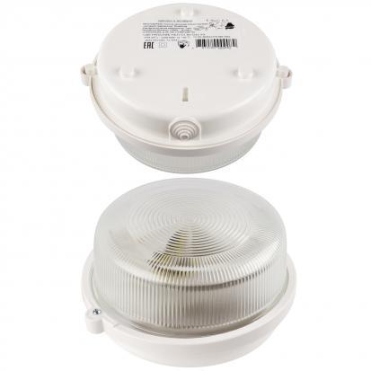Светильник НБП 01-100-033 У3, со стеклом, белый
