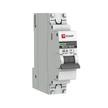 Выключатель нагрузки ВН-63, 1P 40А EKF PROxima