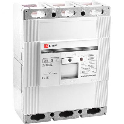 Выключатель автоматический ВА-99 800/630А 3P 35кА EKF PROxima