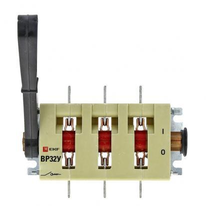 Выключатель-разъединитель ВР32У-37А31220 400А 1 направ. с д/г камерами несъемная левая/правая рукоят