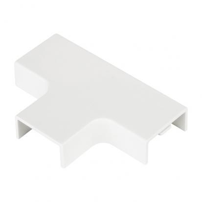 Угол Т-образный (80х60) Plast EKF PROxima Белый