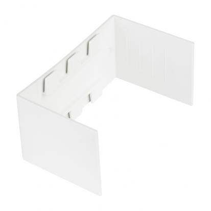 Соединитель (15х10) (4 шт) Plast EKF PROxima Белый