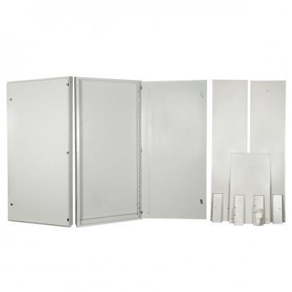 Корпус ВРУ-1Р IP31 разборный 1-дверный без рам и швеллеров (1700х800х450)