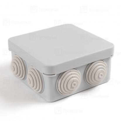 Коробка распределительная 40-0215 для о/п безгалогенная (HF) атмосферостойкая  80х80х40 (105шт/кор)