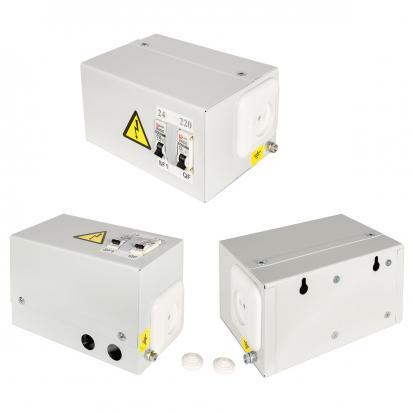 Ящик с понижающим трансформатором ЯТП 0,25кВА 220/36В (2 автомата) EKF Basic