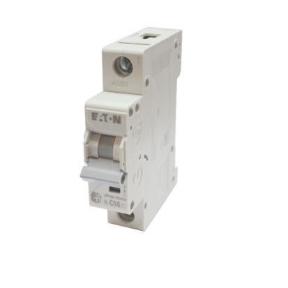 Выключатель автоматический НL-С50/1, 1Р, 50А, хар-ка С, 4,5кА
