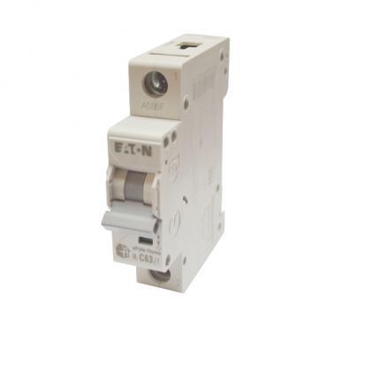 Выключатель автоматический НL-С63/1, 1Р, 63А, хар-ка С, 4,5кА