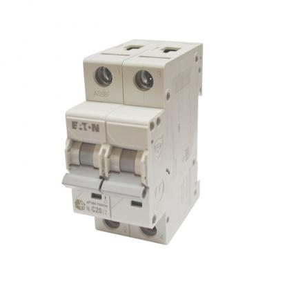 Выключатель автоматический НL-С20/2, 2Р, 20А, хар-ка С, 4,5кА