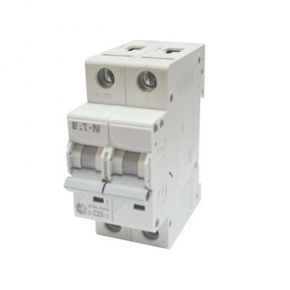 Выключатель автоматический НL-С25/2, 2Р, 25А, хар-ка С, 4,5кА