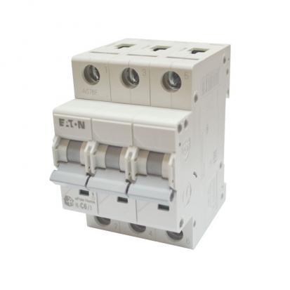 Выключатель автоматический НL-С_6/3, 3Р, _6А, хар-ка С, 4,5кА