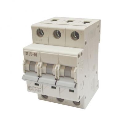 Выключатель автоматический НL-С10/3, 3Р, 10А, хар-ка С, 4,5кА