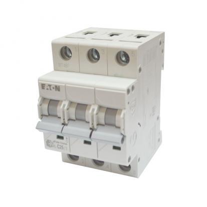 Выключатель автоматический НL-С25/3, 3Р, 25А, хар-ка С, 4,5кА