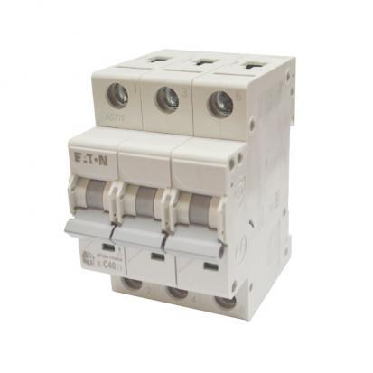 Выключатель автоматический НL-С40/3, 3Р, 40А, хар-ка С, 4,5кА