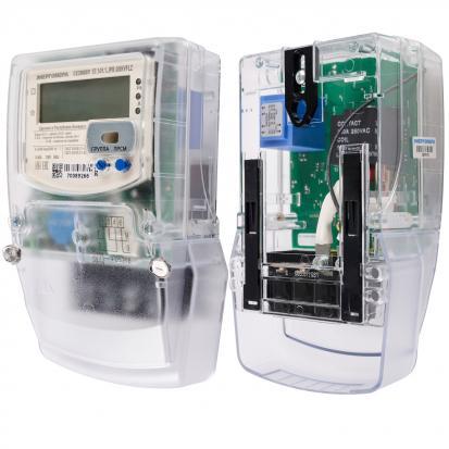 Счетчик электрической энергии CE 208 BY S7 149.1.JPR.QUKVFLZ (5-80) A (актив, оптопорт, PLC, рад.мод