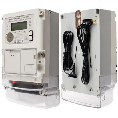 Счетчик электрической энергии СЕ 318 BY S39 643.JAPRG.UYVFL (5-10) А (PLC, радио и GSM-модем, транс)