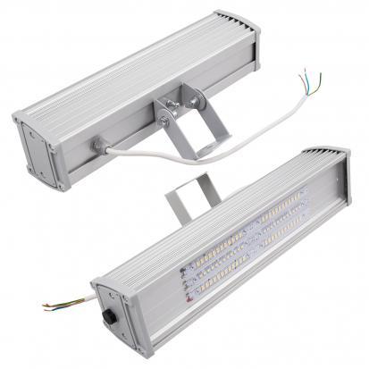 "LED светильник ""СПЕКТР 60"" ДКУ 01-60x1-001 УХЛ1 60Вт, 220В,IP65 с кронштейном поворотным в сборе"