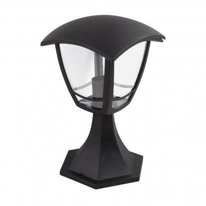 Светильник садово-парковый НТУ 07-60-001 У1 IP44 «Валенсия» черный