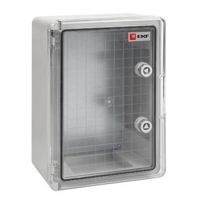 Бокс пластиковый ЩМП-П прозрачная дверь 500х400х240 мм IP65 EKF PROxima