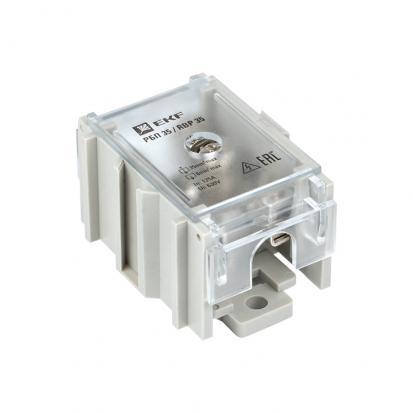 Распределительный блок проходной РБП 35 (1х35-4х6 мм2) 125/50А EKF PROxima