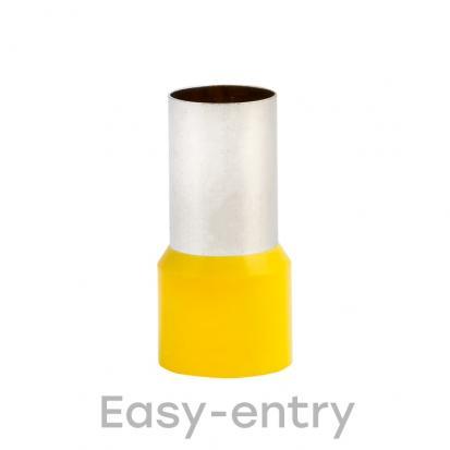 Наконечник штыревой втулочный изолированный НШвИ 70,0-20 (уп 50шт) EKF